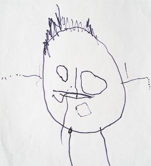 Tekenontwikkeling van het gezonde kind - Schilderen kind jongen ...