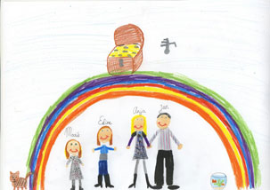 tekening kind 4 jaar